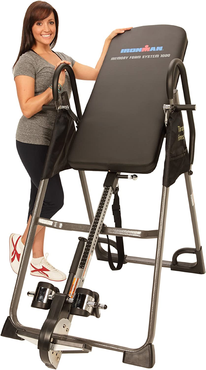 Ironman High Capacity Memory Foam Inversion Table