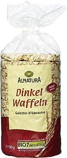 Alnatura Bio Dinkelwaffeln Natur, vegan, 12er Pack 12 x 100 g