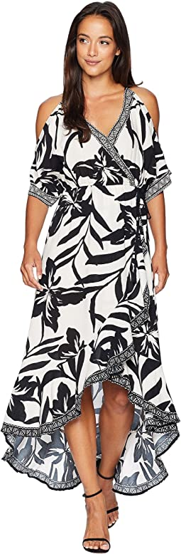 Christina Maxi Wrap Dress