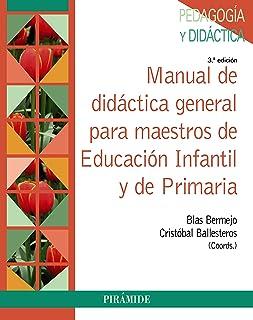 Manual de didáctica general para maestros de Educación