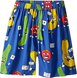 mini rodini - Veggie Woven Shorts (Infant/Toddler/Little Kids/Big Kids)