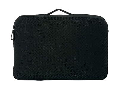 Vera Bradley Iconic Laptop Organizer (Classic Black) Wallet