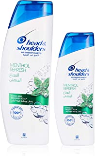 Head & Shoulders Shampoo Menthol, 400+200ML