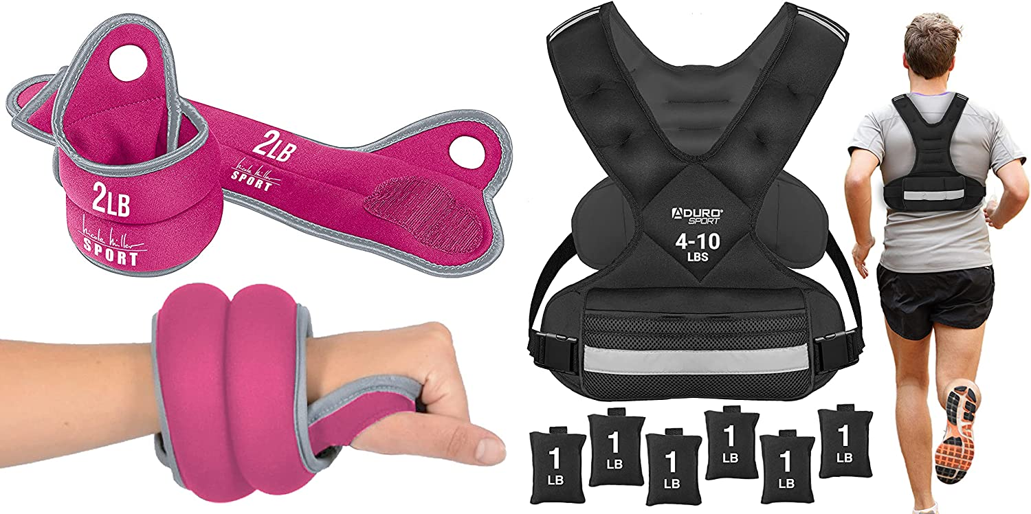 Nicole Miller Popular overseas Wrist Weight Sets Inexpensive Thumblock for Hand Weights
