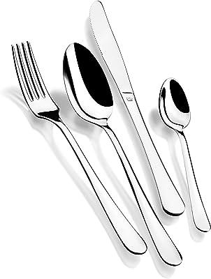 Monix Dinner Ménagère en acier inoxydable 18/c 24 pièces