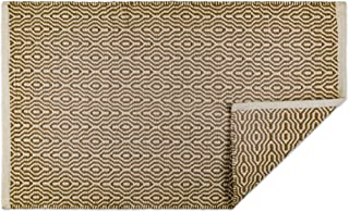 DII Indoor Braided Cotton Handloomed Yarn Dyed Woven Reversible Area Rug for Bedroom, Living Room, Kitchen, 2x3' - Keyhole...