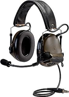 3M PELTOR COMTAC 93435 PELTORCOMTACIII MT17H682BB-47 GN Advanced Combat Helmet (ACH) Communication Headset, Single COMM, Neck Band, 2