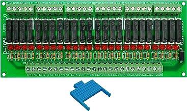 Electronics-Salon Slim Panel Mount DC5V Sink/NPN 24 SPST-NO 5A Power Relay Module, APAN3105