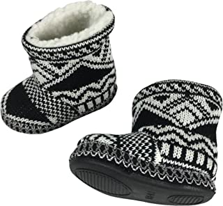 Little Kids and Baby Sherpa Lined Indoor/Outdoor Walking Boots