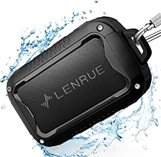 Waterproof Bluetooth Speakers V5.0,Portable Wireless Speaker for Outdoor,10W,10H Playtime,for PC Tablet Laptop Computer,Al... photo