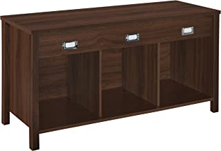 ClosetMaid 16051 Premium 3-Cube Bench, Dark Chestnut