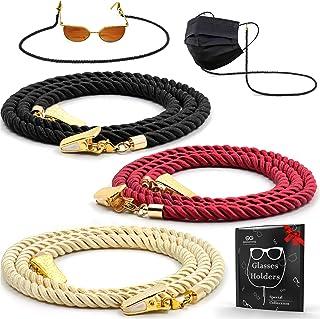 Glasses Strap String Holder Cord - Terylene Eyeglasses Strap Holders - Eye Glasses Accessory Chain - Eyeglass Chains for W...