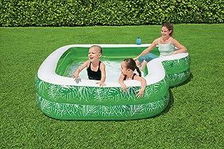 مقعد في حوض السباحة أسفل حامل كوب واحد سعة المياه: 282 لتر (74 جالون.) المحتويات: حوض سباحة، مع رقعة إصلاح