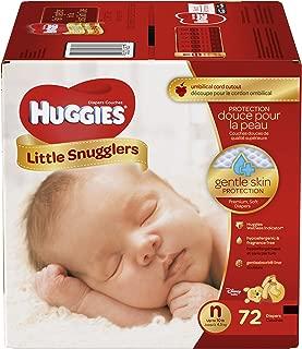 Huggies Little Snugglers Diapers - Newborn - 72 ct
