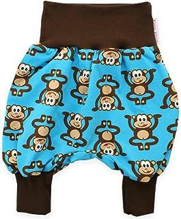 Kleine K/önige Kurze Pumphose Baby Jungen Shorts /· Modell Weltall Royalblau /· /Ökotex 100 Zertifiziert /· Gr/ö/ßen 62-92