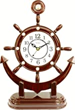 EDEAL Antique Look Analogue Table Clock for Home and Office Gift