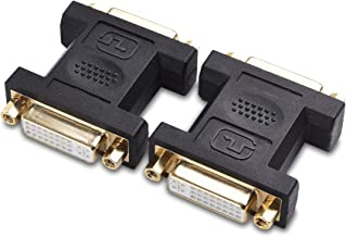 Cable Matters 2-Pack DVI to DVI Coupler (DVI Female to Female Adapter)