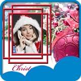 クリスマスフォトセルフ