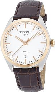 Tissot Men's T1014102603100 Analog Display Quartz Brown Watch