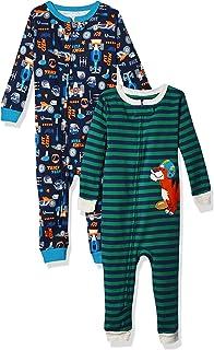 Carter's Boys' 2-Pack Cotton Footless Pajamas