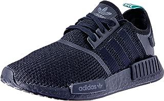 adidas Women's NMD_R1 Shoes, Core Black/Core Black/Clear Mint, 6.5 US (6.5 AU)