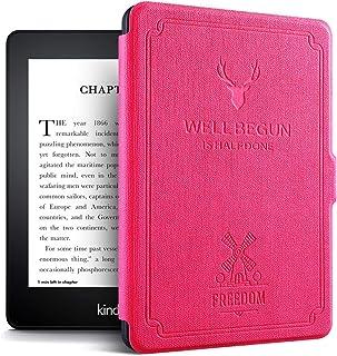 Kindle Paperwhite rustykalna skórzana osłona z automatyczną funkcją snu budzenia (10. generacji, wydanie 2018)