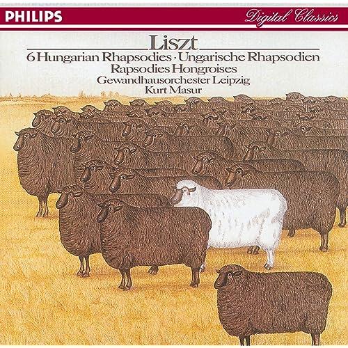 リスト: ハンガリー狂詩曲集