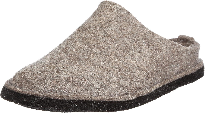Haflinger 311010 Hausschuhe, Filztoffel Flair Soft, torf