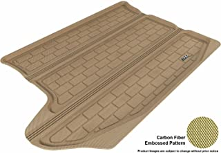 3D MAXpider Cargo Custom Fit All-Weather Floor Mat for Select Jeep Compass Models - Kagu Rubber (Tan)