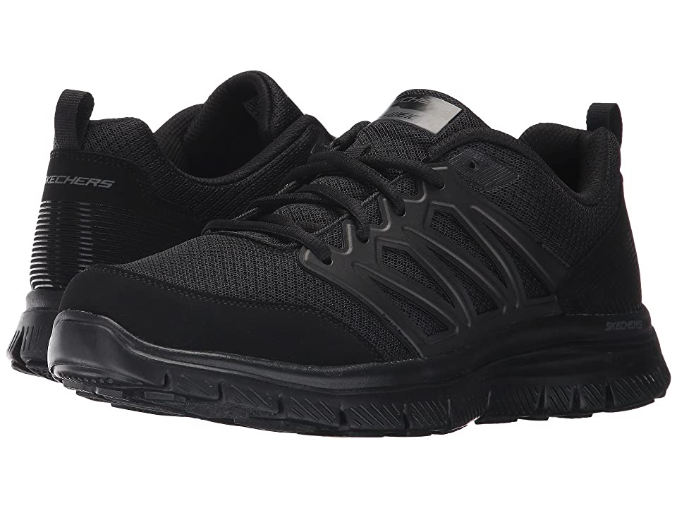SKECHERS Flex Advantage 1.0 Sheaks (Black/Black) Men