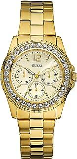 GUESS Factory Women's Gold-Tone Multifunction Watch, NS