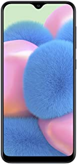 Samsung Galaxy A30s - Smartphone de 6.4 Super AMOLED (4 GB RAM 64 GB ROM 16 MP ultra angular Dual SIM versión española) negro