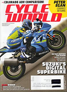 Cycle World 2016 America's Leading Motorcycle Magazine PETER EGAN LEANINGS RETURNS Colorado ADV Comparison SUZUKI'S DIGITAL SUPERBIKE
