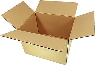 120サイズ 国産ダンボール(みかん箱タイプ・段ボール箱) 引越し、収納、配送用 梱包箱 アプリコットシステム株式会社 (6枚)
