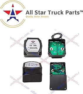 [ALL STAR TRUCK PARTS] 12V 140 Amp Dual Battery Smart Isolator - VSR - Voltage Sensitive Relay Specially Designed for ATV, UTV, Boats, RV's, Campers 5th Wheels Off Road Vehicles Rhino Polar