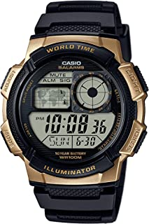 Casio Men's '10 Year Battery' Quartz Stainless Steel and...