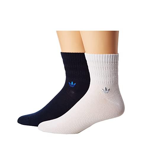 adidas Originals Originals Textured 3-Stripe Quarter Sock 2-Pack. $12.00.  PAIR. PAIR