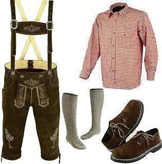 German Bavarian Oktoberfest Trachten Lederhosen Complete Outfit