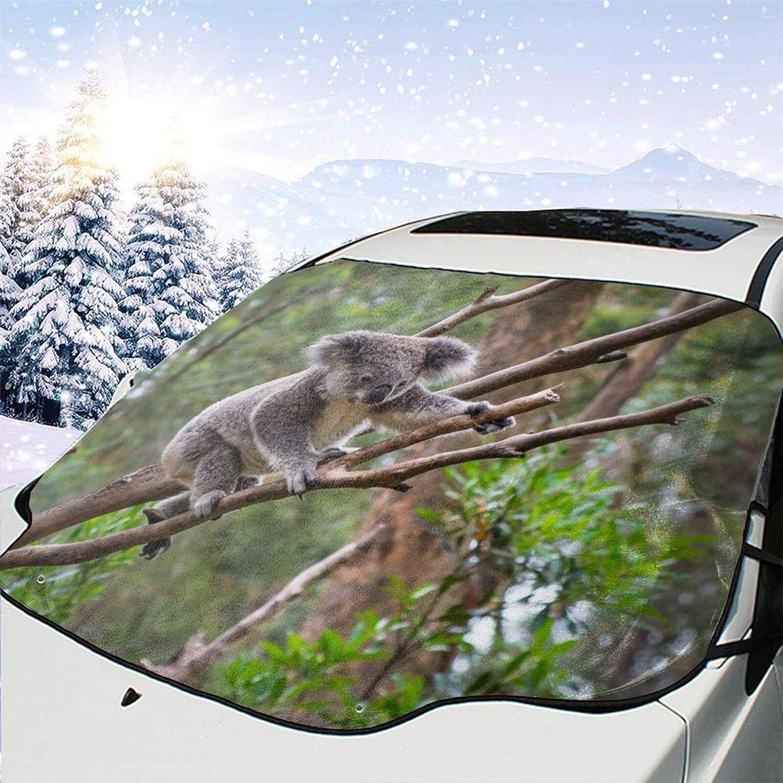 Alouply Car Windshield New products world's highest quality popular Snow Cover unisex Tree Prot Koala Wild Climbing