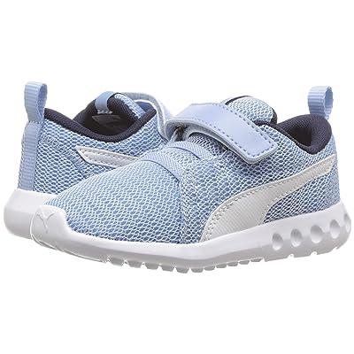 Puma Kids Carson 2 V (Toddler) (Cerulean/Peacoat/Puma White) Boys Shoes