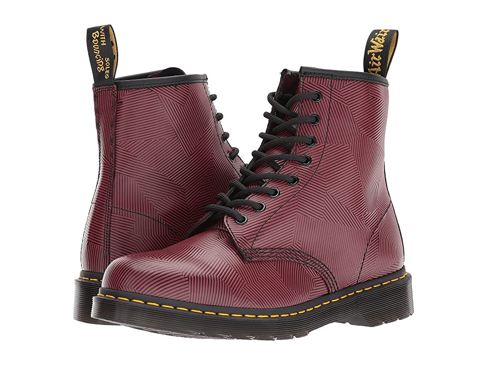 Dr. Martens 1460 8-Eye Boot (Oxblood/Black Geostripe) Men
