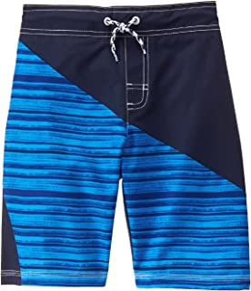 Gymboree Big Boys ' diagonal Blu - Trunks
