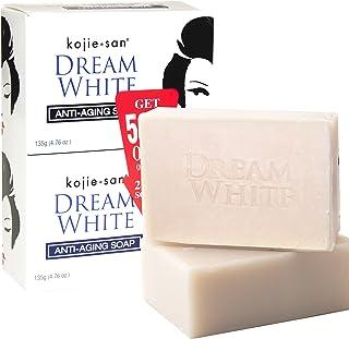 KOJIE SAN SOAP, ALL VARIANTS, (DREAM WHITE WHITENING SOAP 2X135GRAMS)