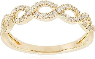 [ベルシオラ] BELLESIORA 【 K18YGダイヤモンドリング 】 4008131100203013 日本サイズ13号
