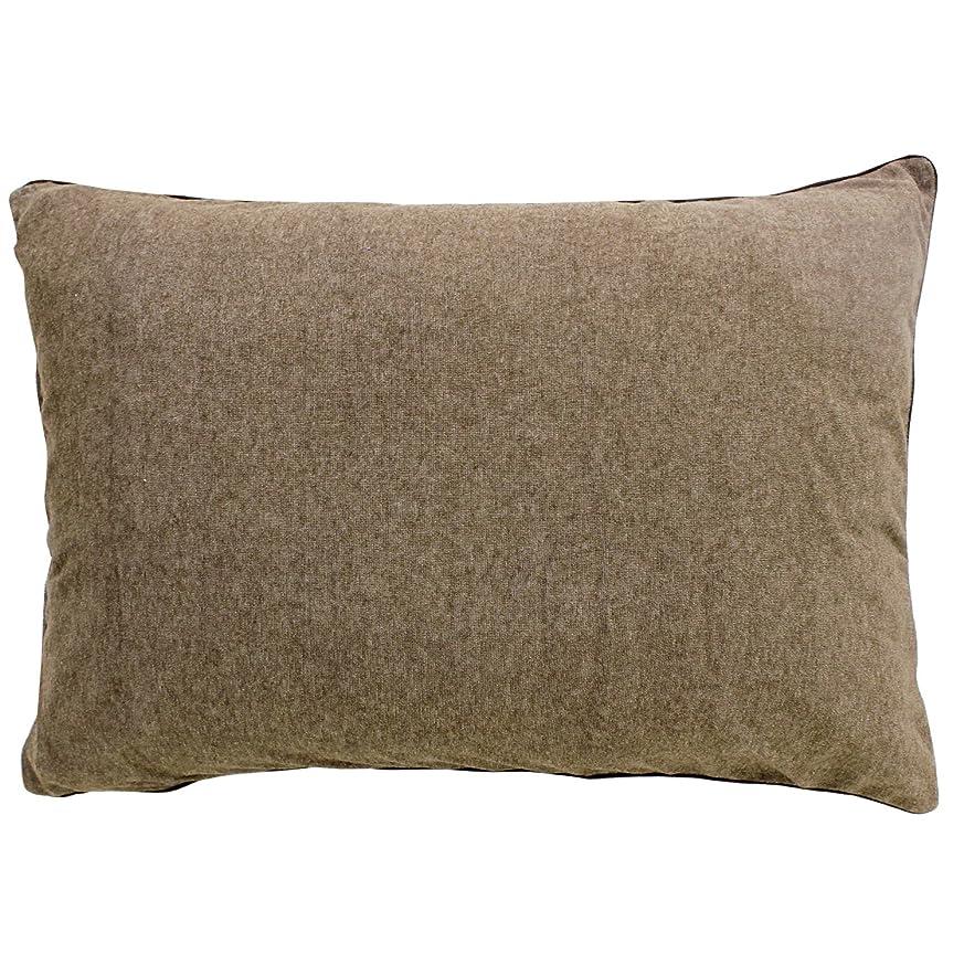 スキャン極めて高揚したメリーナイト(Merry Night) 抗菌防臭加工 パイル素材 枕カバー 35×50㎝ ブラウン NE3516-93