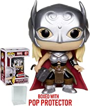 Funko Pop! Marvel: Avengers - Lady Thor Jane Foster Secret Wars Vinyl Figure (Bundled with Pop Box Protector Case)
