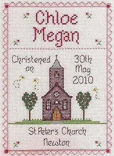 christening cross stitch