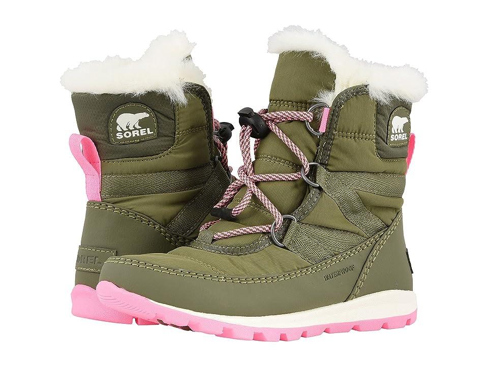SOREL Kids Whitneytm Short Lace (Little Kid/Big Kid) (Hiker Green/Sea Salt) Girls Shoes
