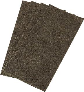 Adsamm® | 4 x placas auto-adhesivas de fieltro recortables