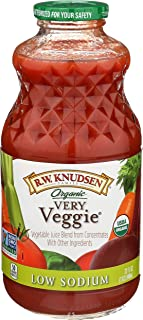 Knudsen, Juice, Very Veggie, Low Sodium, Organic, 1 Quart